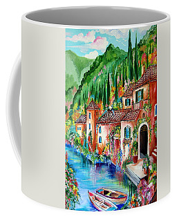 Serenity By The Lake Coffee Mug by Roberto Gagliardi