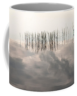 Serenity Dwells Here Where Tranquil Water Flow Cloaked  In Hues Of Love Coffee Mug