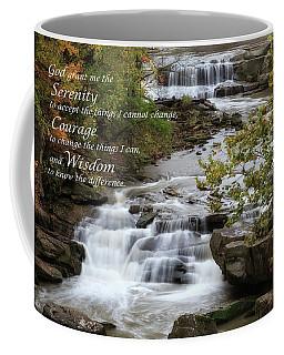 Coffee Mug featuring the photograph Serenity Prayer by Dale Kincaid