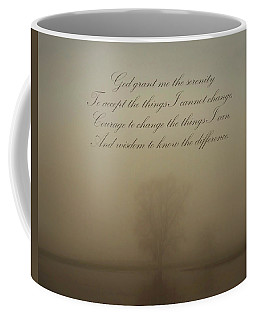 Serenity Prayer Coffee Mug by Inspired Arts