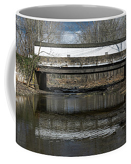 Sergeantsville Bridge Coffee Mug by Steven Richman