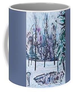 Sergey Rachmaninoff In Strastnoy Boulevard Coffee Mug