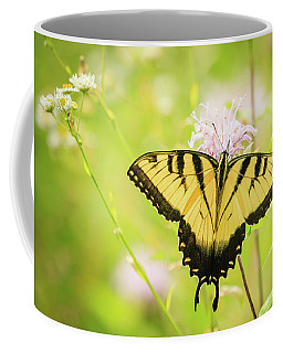 Series Of Yellow Swallowtail #6 Of 6 Coffee Mug