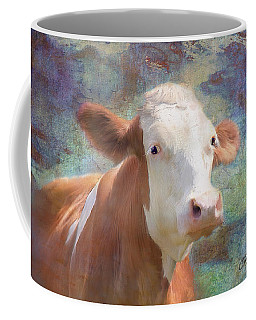 Coffee Mug featuring the mixed media Serious Business by Colleen Taylor