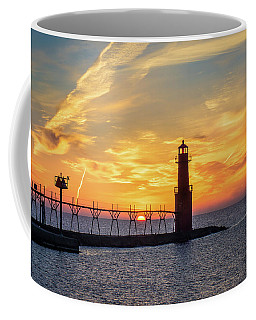 Coffee Mug featuring the photograph Serious Sunrise by Bill Pevlor