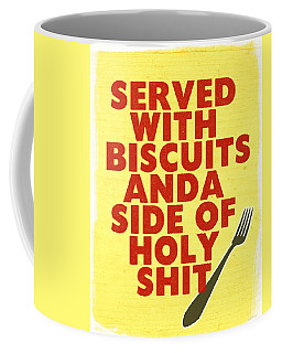 Served With Biscuits- Art By Linda Woods Coffee Mug