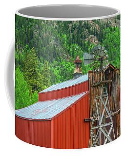 Set Against A Palisade  Coffee Mug