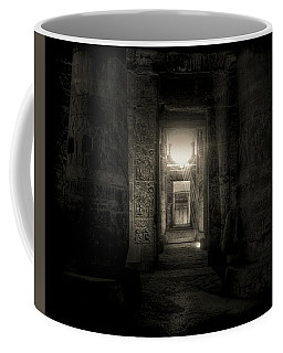 Coffee Mug featuring the photograph Seti I Temple Abydos by Nigel Fletcher-Jones