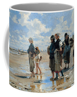 Setting Out To Fish Coffee Mug