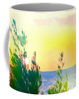 Pastel Colors On The Atlantic Ocean In Cancun Coffee Mug