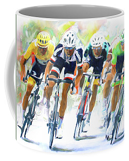 Setting The Pace Coffee Mug