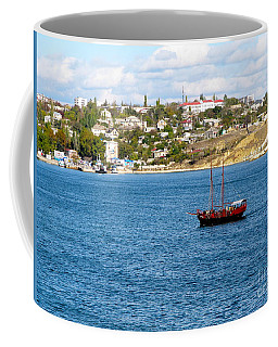 Coffee Mug featuring the photograph Sevastapol. Ukraine by Phyllis Kaltenbach
