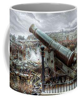 Sevastopol Cannon 1855 Coffee Mug by Pennie  McCracken
