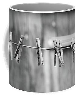 Seven Clothes Pins Coffee Mug