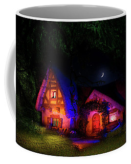 Seven Dwarves Cottage Coffee Mug by Mark Andrew Thomas