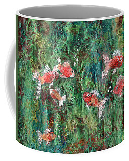 Seven Little Fishies Coffee Mug