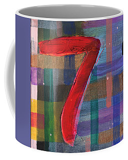 Seven Of Plaid Coffee Mug
