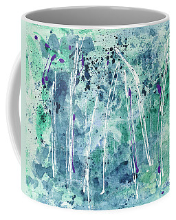 Coffee Mug featuring the painting Seven Sisters by Kathryn Riley Parker