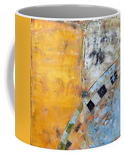 Coffee Mug featuring the painting Art Print Seven7 by Harry Gruenert