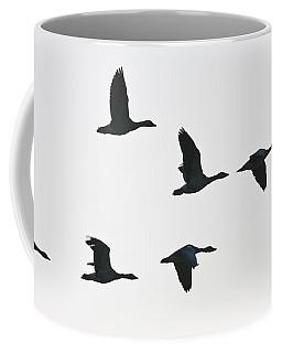 Sevenfold Geese Coffee Mug