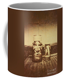 Severed And Preserved Head And Hand In Jars Coffee Mug