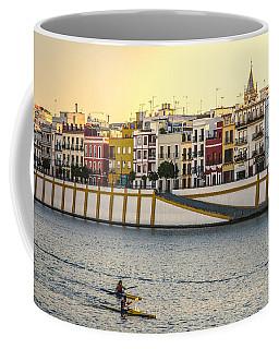 Seville - Sunset In Calle Betis Coffee Mug
