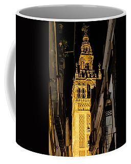Seville - The Giralda At Night  Coffee Mug by Andrea Mazzocchetti