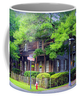 Seville Wooden House Coffee Mug