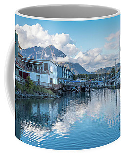 Seward Harbor In Alaska Coffee Mug by Brenda Jacobs