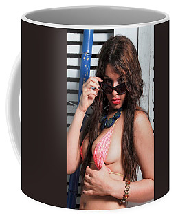 Sexy Latina Babe Coffee Mug