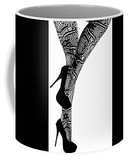 Sexy Legs In Stilettos Coffee Mug