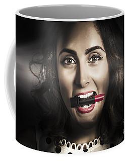 Sexy Lips Pin-up Beauty Coffee Mug
