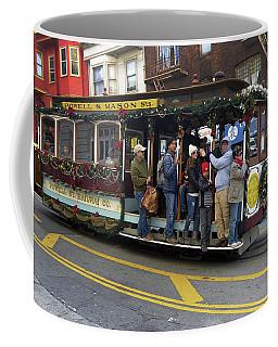 Sf Cable Car Powell And Mason Sts Coffee Mug