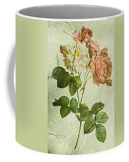 Shabby Chic Pink And White Peonies Coffee Mug