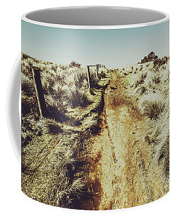 Shabby Outback Path Coffee Mug