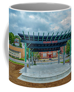 Coffee Mug featuring the photograph Shaboo Stage  by Michael Hughes