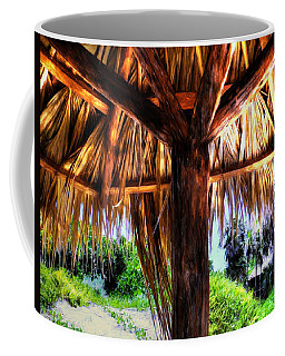 Shade On The Beach Coffee Mug by Pennie  McCracken