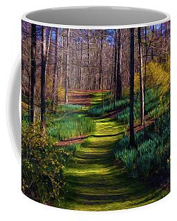 Shaded Spring Stroll Coffee Mug