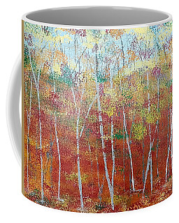 Shades Of Autumn Coffee Mug by Judi Goodwin
