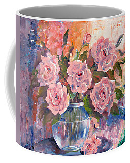Shades Of Flowers Coffee Mug