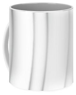 Shades Of Gray Curves Coffee Mug