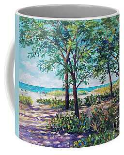 Shades Of Longboat Key Coffee Mug by Lou Ann Bagnall