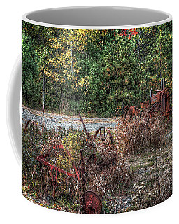 Shades Of Rust Coffee Mug