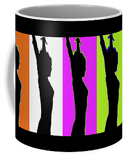 Shadow Dancers In A Row Coffee Mug