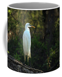 Shadow Heron Coffee Mug