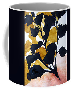 Shadow Hibiscus Coffee Mug by Lil Taylor