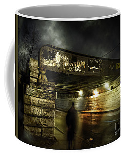 Shadow Man Coffee Mug
