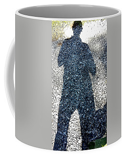 Shadow Man Coffee Mug by Richard Ortolano