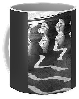 Shadow Of Railing Coffee Mug