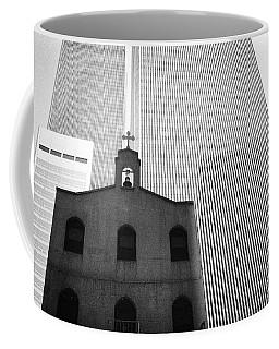 Shadow Of World Trade Center Coffee Mug
